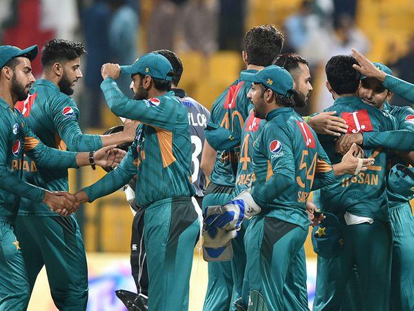 પાકિસ્તાનની ટીમનો ફાઇલ ફોટો. - Divya Bhaskar
