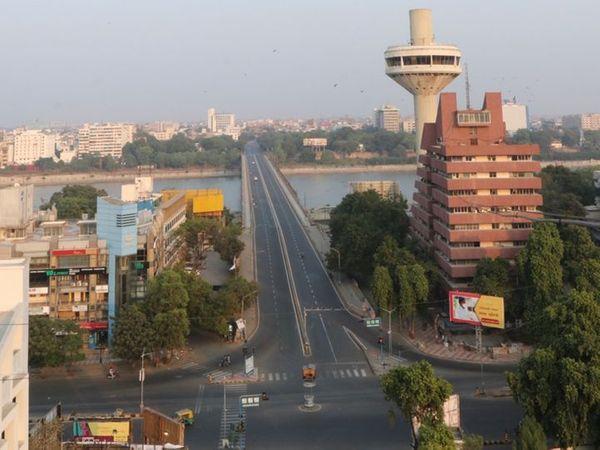 અમદાવાદમાં ગત શનિ રવિએ દિવસનો કર્ફ્યૂ લગાવવામાં આવ્યો હતો - Divya Bhaskar
