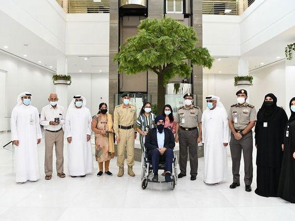 દંપતીની હત્યા બાદ બે પુત્રીને UAE સરકારે ગોલ્ડન વિઝા આપ્યા હતા. - Divya Bhaskar