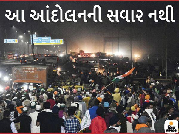 કૃષિ કાયદાનો વિરોધ કરી રહેલા ખેડૂતોએ નવી દિલ્હીમાં દિલ્હી-મેરઠ હાઈવે બ્લોક કર્યો - Divya Bhaskar