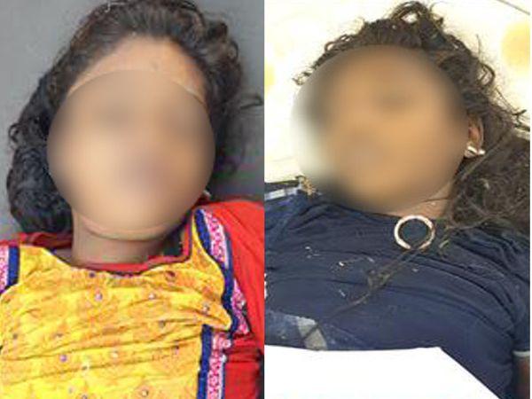 જેતપુરના મોટા ગુંદાળા ગામે બે તરૂણી ચેકડેમમાં ડૂબી જતા મોત, બંનેના મૃતદેહને પીએમ માટે હોસ્પિટલ ખસેડાયા - Divya Bhaskar