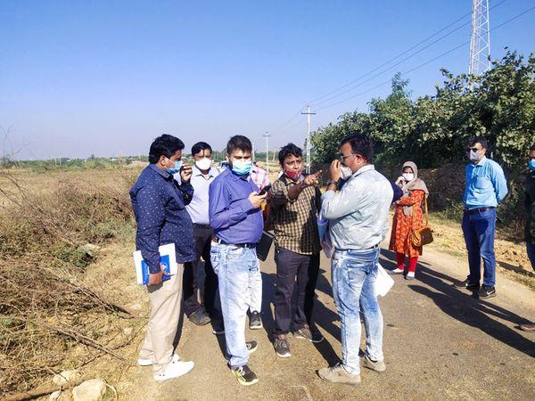 ટુરિઝમ વિભાગની ટીમે સર્વે હાથ ધર્યો હતો. - Divya Bhaskar
