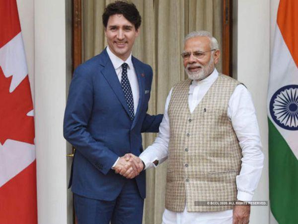 ભારત અને કેનેડા વચ્ચે વેપાર પણ ધીમે ધીમે વધી રહ્યો છે, ખેડૂત આંદોલન આ સંબંધોમાં ખટાશ લાવી શકે છે. - Divya Bhaskar