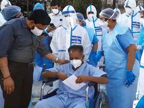 ICU-6માં આગનો બનાવ ઉભો કરવામાં આવ્યો હતો