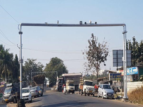 પ્રથમ ચરણમાં કામરેજ તાલુકામાં CCTV કેમેરા શરૂ કરાયા - Divya Bhaskar