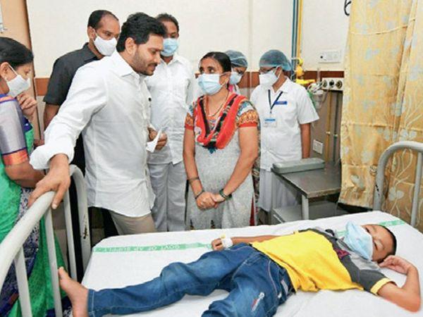 સીએમ રેડ્ડી હોસ્પિટલ પહોંચ્યા. - Divya Bhaskar