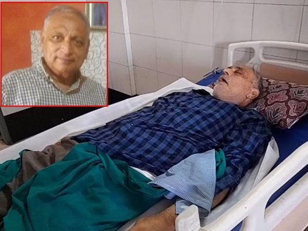 ઘટનાની ગંભીરતા સમજીનેહોસ્પિટલે આવી પહોંચેલા ડો.અજય કોઠીયાલાએ હોસ્પિટલના સ્ટાફની ભૂલ હોવાનું સ્વીકાર્યું હતું - Divya Bhaskar