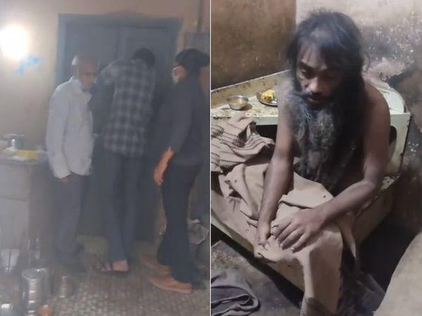 રાજકોટમાં બે ભાઈ અને એક બહેનની માનસિક સ્થિતિ ખરાબ થતા એક જ ઓરડીમાં આશરે 10 વર્ષથી રહેતા હતા - Divya Bhaskar