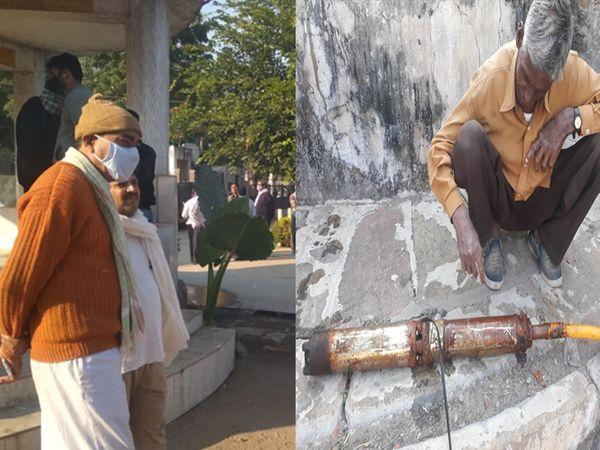 બે દિવસથી યાંત્રીક ખામીના કારણે મોટર બંધ થઇ ગઇ છે - Divya Bhaskar