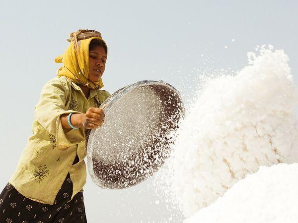 ભારત તેની જરૂરિયાત કરતાં લગભગ ચાર ગણું વધુ મીઠું પકવે છે, એટલે દેશમાં મીઠાની અછત સર્જાવાની કોઈ શક્યતા જ નથી.