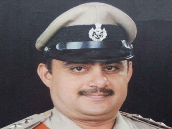 રાંદેર પોલીસ મથકના પીઆઈ ડીવી બલદાણીયાની ફાઈલ તસવીર. - Divya Bhaskar