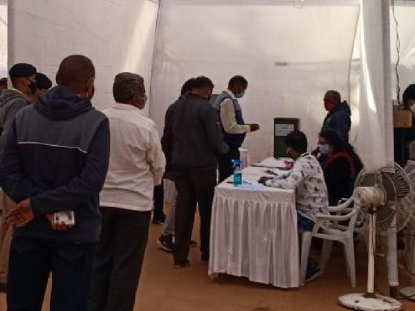 વડોદરા જિલ્લા દૂધ ઉત્પાદક સહકારી મંડળીની ચૂંટણી માટે મતદાન શરૂ - Divya Bhaskar