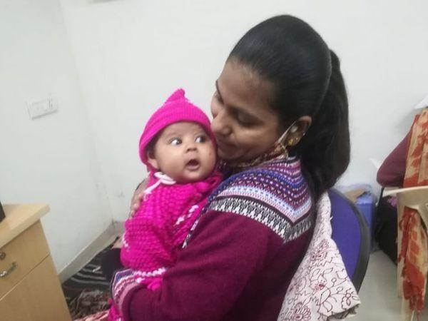 માતાના ગર્ભમાં રહી પુત્રીએ 201 િદવસ કોિવડમાં ફરજ બજાવી