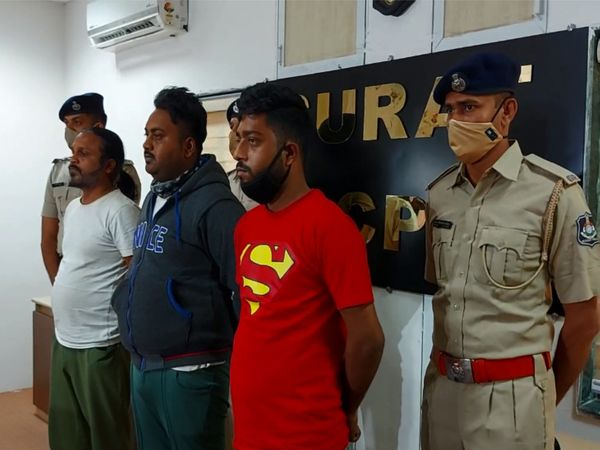 લાલુ ઝાલિમ ગંગેના 3 સાગરીતોને ઝડપી પાડવામાં આવ્યા. - Divya Bhaskar