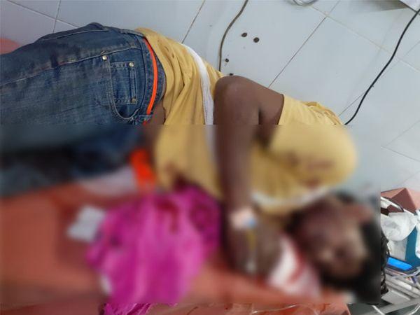 દારૂડીયા પતિ પર પત્નીએ બ્લેડથી હુમલો કરી 5 ઘા માર્યા હોવાની વાત સાંભળી ડોક્ટરો પણ આશ્ચર્યમાં પડી ગયા. - Divya Bhaskar