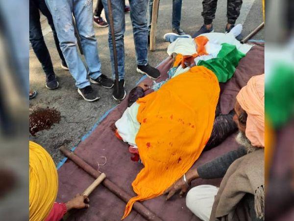 દિલ્હી આઈટીઓની પાસે એક ખેડૂતનું મોત થયું છે. પોલીસના જણાવ્યા મુજબ ટ્રેક્ટર પલટી ખાઈ જવાથી ખેડૂતનું મોત થયું છે.