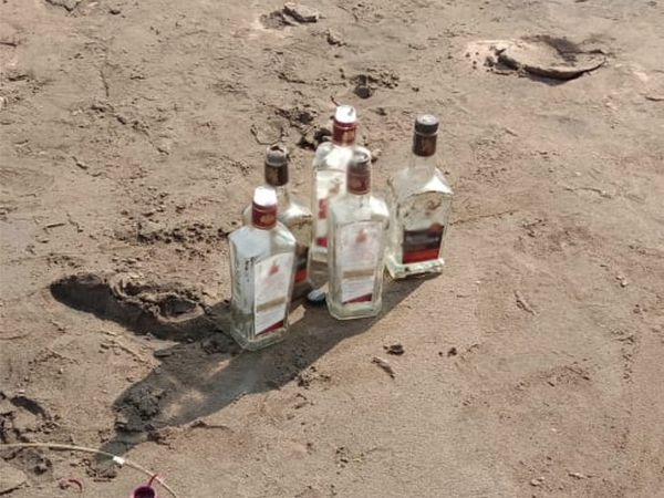 પાંચ બોટલ જેટલો દારૂ પી ગયા.