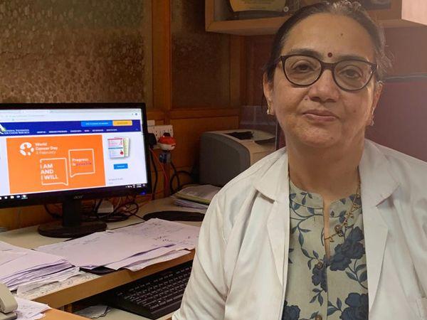 કેન્સર હોસ્પિટલના નાયબ નિયામક ડૉ. પરિસીમાં દવે. - Divya Bhaskar