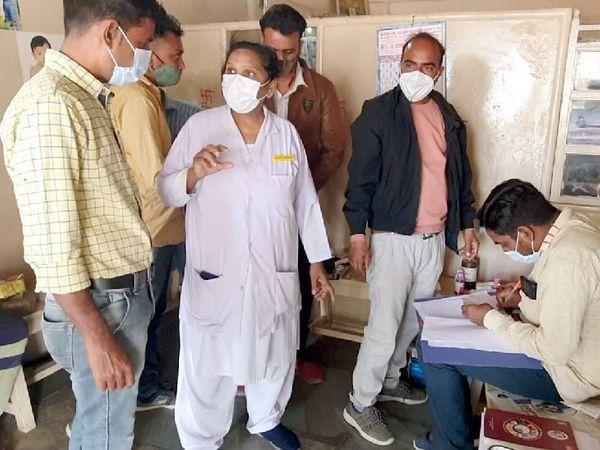 આરોગ્ય અધિકારીએ કરી બોગસ તબીબ સામે કરી કાર્યવાહી