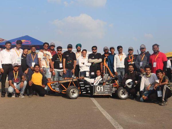 GTUની ફોર્મ્યૂલા ટીમને 1 હજાર માંથી 745 પોઈન્ટનો સ્કોર મળ્યો - Divya Bhaskar