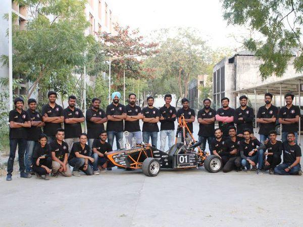 ગત વર્ષે ફોર્મ્યૂલા ભારત સ્પર્ધામાં GTUની ટીમે તૃતિય સ્થાન હાંસલ કર્યુ હતું