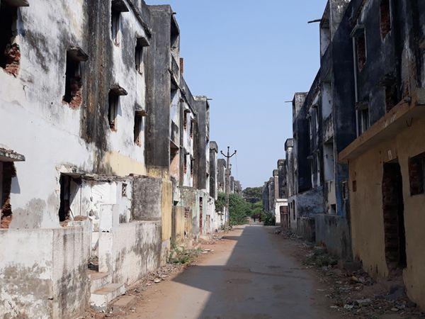 વોર્ડ નં4માં પ્રગતિનગરમાં એક હજાર મકાન ખાલી છે. આ મતદારોને રીઝવવા કાઉન્સલર માટે મુશ્કેલ બનશે. - Divya Bhaskar