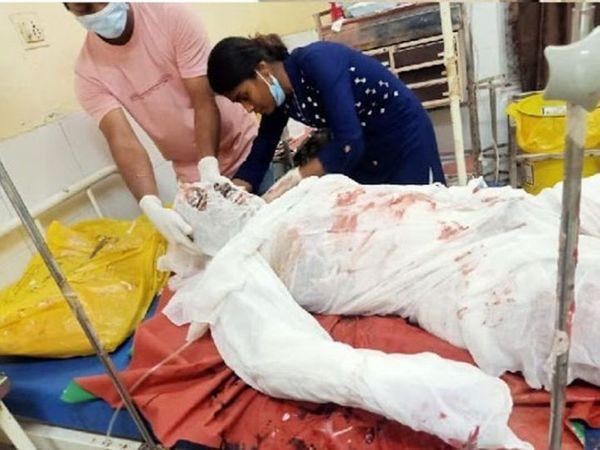 નેવી ઓફિસર સૂરજ ભાનમાં આવ્યા બાદ પોલીસ સમક્ષ અપહરણ અંગે જાણકારી આપી હતી. મુંબઈમાં તેમનું મૃત્યુ થયું - Divya Bhaskar