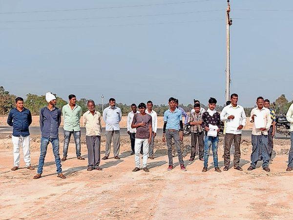કાલોલ તાલુકાના ખેડૂતોને તેમની જમીનનું પુરે પૂરું વળતર વહેલી તકે મળે તેવી માંગ કરી - Divya Bhaskar