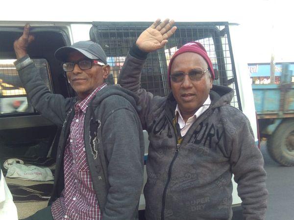 અરવલ્લી જિલ્લા કિસાનસભાના કાર્યકરોની પોલીસે અટકાયત કરી હતી. - Divya Bhaskar