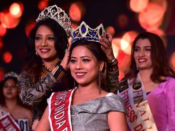 પ્રોફેશનલ મેકઅપ આર્ટિસ્ટ સોનલ ઠાકુર મિસિસ ઇન્ડિયા દિવાસ યુનિવર્સ બની - Divya Bhaskar