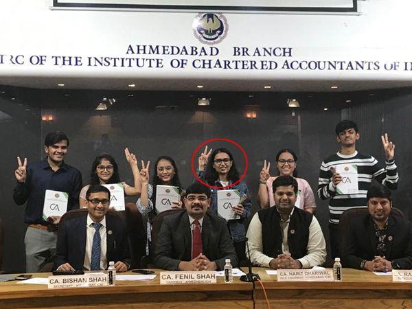 ICAI અમદાવાદના ચેરમેન ફેનિલ શાહે તમામ વિદ્યાર્થીઓને અભિનંદન આપ્યાં હતાં. - Divya Bhaskar