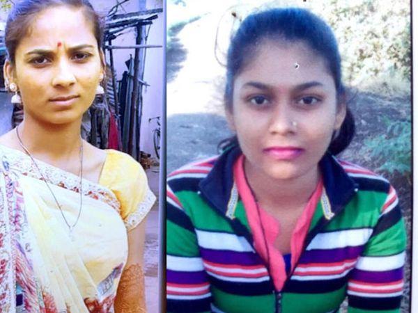 તસવીરમાં ડાબે થી રાગીણીબેન, વીણાબેન - Divya Bhaskar