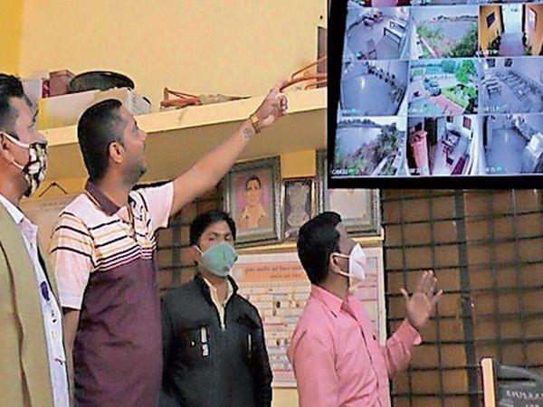 નડામાં ચોરીના કિસ્સામાં પોલીસને ચોર પકડવામાં સરળતા થઈ ગઈ છે. - Divya Bhaskar