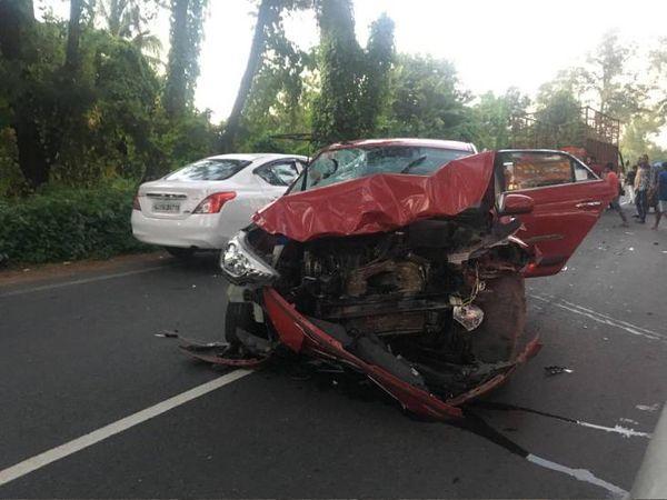 વાહનની સ્પીડના કારણે ઘણીવાર દુર્ધટના થતી હોય છે ( પ્રતિકાત્મક તસવીર) - Divya Bhaskar