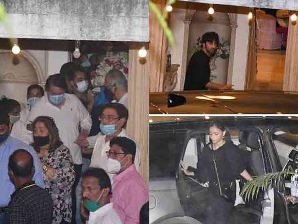 નવ ફેબ્રુઆરીએ જે ઘરમાંથી રાજીવ કપૂરની અર્થી કાઢવામાં આવી એ જ ઘરમાં 14 ફેબ્રુઆરીએ પાર્ટી આપવામાં આવી