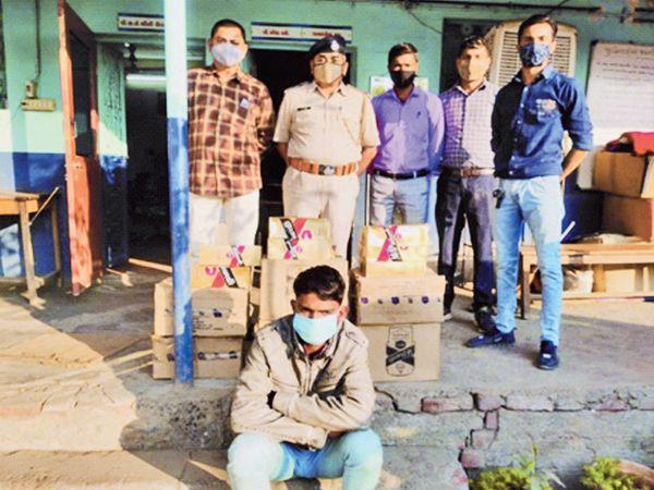 આરોપીને ઝડપી પોલીસે કાર્યવાહી શરૂ કરી છે. - Divya Bhaskar