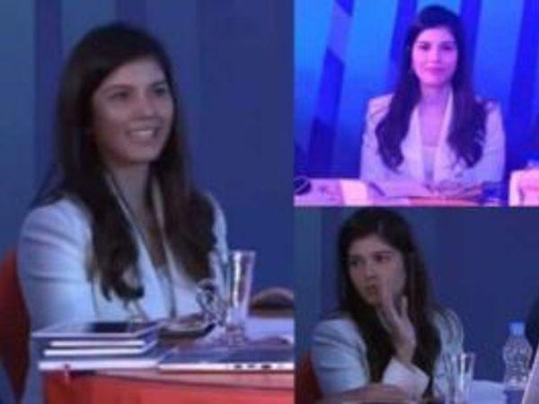 હૈદરાબાદના ટેબલ પર જોવા મળતી એક સુંદર યુવતીએ તમામનું ધ્યાન પોતાના તરફ ખેંચ્યું હતું - Divya Bhaskar
