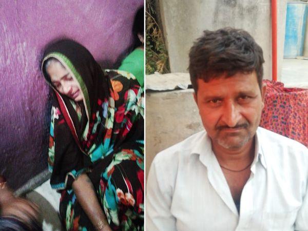બન્ને મૃતક પુત્રની ફાઇલ તસવીર જ માતા-પિતાનો જીવવાનો સહારો. - Divya Bhaskar