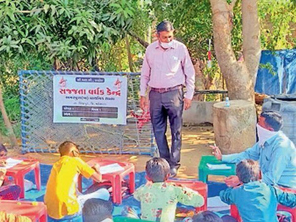 લાડોલ ક્લસ્ટરની 10 શાળાઓના ધો.1થી 8ના 1966 વિદ્યાર્થીઓ માટે સજ્જતાવર્ધક પ્રોજેક્ટ અમલમાં મૂકાયો છે. - Divya Bhaskar