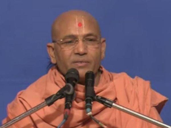 આધારસ્વરૂપ સ્વામીની ફાઇલ તસવીર. - Divya Bhaskar