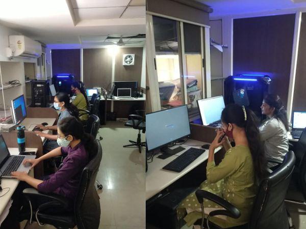 આરોપીઓને પાઠ ભણાવવા સુધી આ મહિલા કર્મચારીઓ સતત કામ કરે છે.