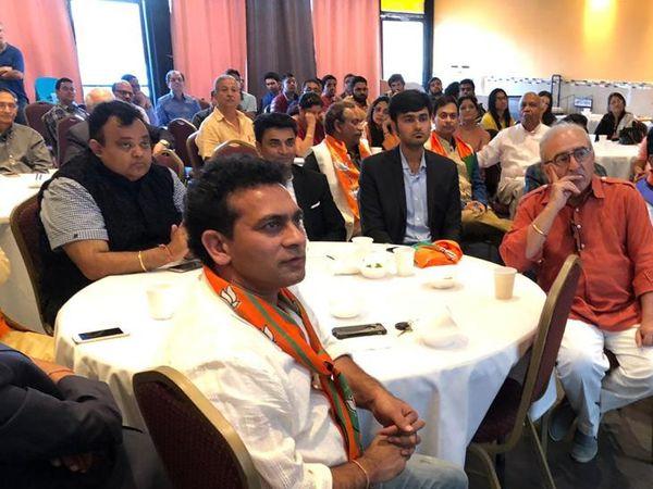 एनआरआई ने कहा कि लोग प्रधानमंत्री नरेंद्र मोदी द्वारा दी गई दूरदर्शिता की सराहना कर रहे हैं, जो स्पष्ट है।