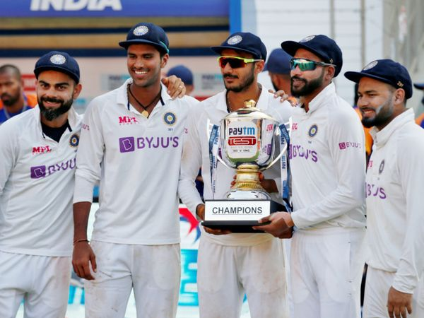 ટેસ્ટ સિરીઝમાં ભારતે ઈંગ્લેન્ડને 3-1થી હરાવ્યું. - Divya Bhaskar