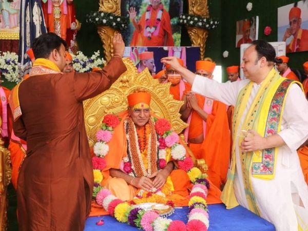 ગોસ્વામી 108 દ્વારકેશલાલજી મહારાજ પણ ઉપસ્થિત રહ્યાં હતાં