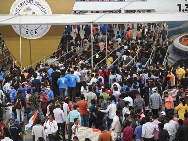નરેન્દ્ર મોદી સ્ટેડિયમમાં રમાનારી ઈન્ડિયા-ઈંગ્લેન્ડ વચ્ચેની T20ની મેચો દર્શકો વિના રમાશે