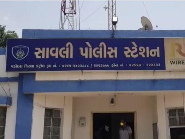 સાવલી પોલીસે આપઘાતનો ગુનો નોંધીને વધુ તપાસ હાથ ધરી છે. - Divya Bhaskar