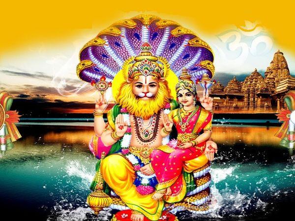 ભગવાન વિષ્ણુના બાર અવતારમાંથી એક અવતાર નૃસિંહ ભગવાન છે