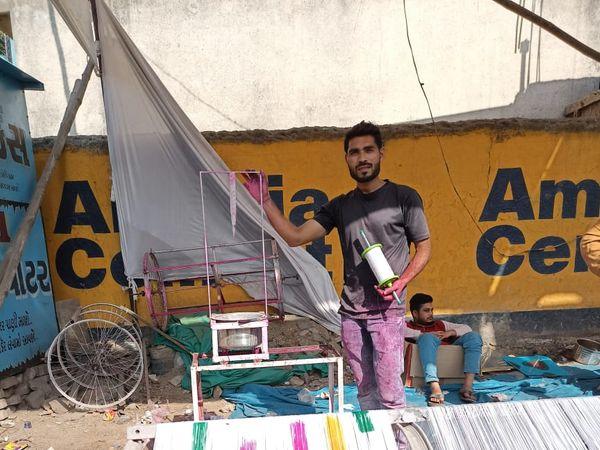 પતંગની દોરીથી નગરસેવક સુધીની સફર - Divya Bhaskar