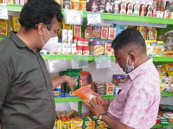 ફૂડ વિભાગની ટીમે હોળી અને ધૂળેટી પર્વને અનુલક્ષીને ધાણી ખજૂર ચણા સહિતની ખાદ્ય સામગ્રીનું વેચાણ કરતા વેપારીઓને ત્યાં દરોડા પાડ્યા - Divya Bhaskar