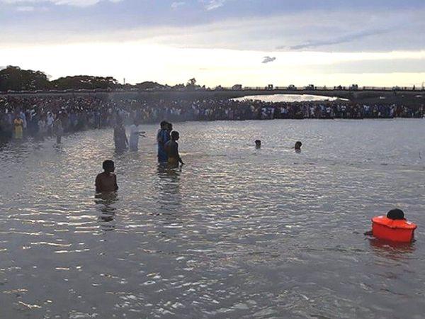 નારેશ્વર પાસેથી પસાર થતી નર્મદા નદી(ફાઇલ તસવીર)